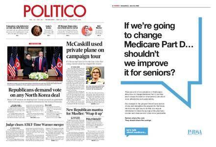 Politico – June 13, 2018
