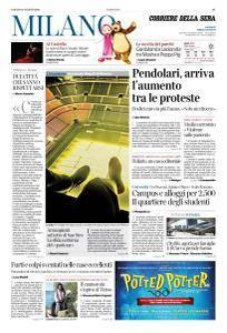 Corriere della Sera Milano - 18 Agosto 2018