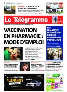 Le Télégramme Brest Abers Iroise – 06 mars 2021