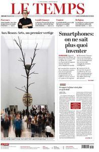 Le Temps - 07 octobre 2019