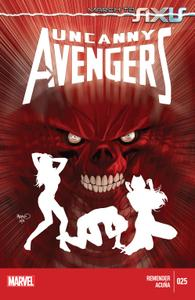 AXIS series 5967 009 Uncanny Avengers 025 2014 Digital Archangel+Zone