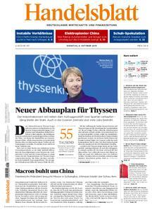 Handelsblatt - 08. Oktober 2019