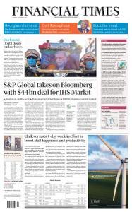 Financial Times Europe - December 1, 2020