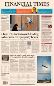Financial Times Europe - April 5, 2021