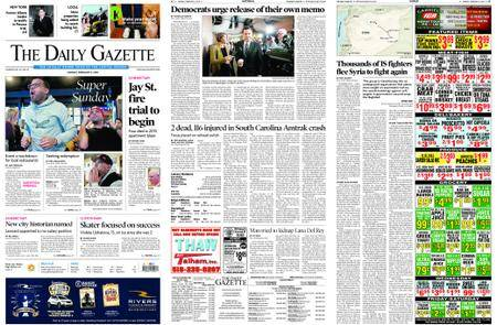 The Daily Gazette – February 05, 2018