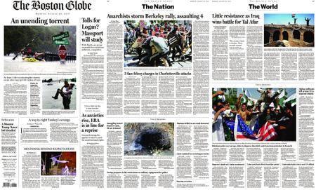 The Boston Globe – August 28, 2017