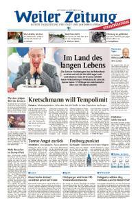 Weiler Zeitung - 09. Oktober 2019