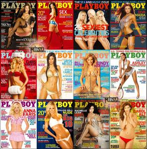 Playboy USA - Full Year 2008 Issues Collection