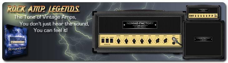 NomadFactory Rock Amp Legends VST RTAS v1.5
