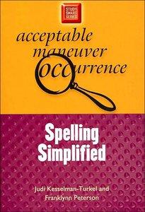 Spelling Simplified (Study Smart Series)