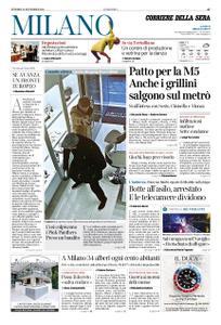 Corriere della Sera Milano – 30 novembre 2018