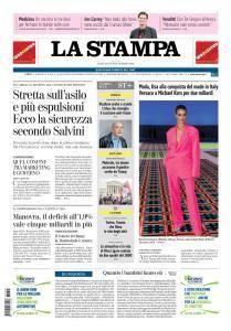 La Stampa Imperia e Sanremo - 25 Settembre 2018