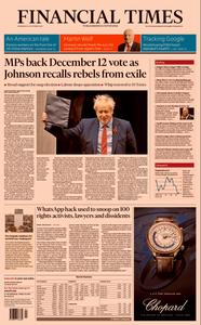 Financial Times UK – 30 October 2019