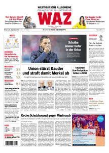 WAZ Westdeutsche Allgemeine Zeitung Oberhausen-Sterkrade - 26. September 2018