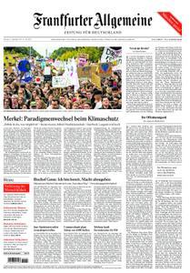 Frankfurter Allgemeine Zeitung F.A.Z. - 21. September 2019