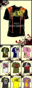 T-shirt Design Vector Collection