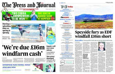 The Press and Journal Moray – April 16, 2018