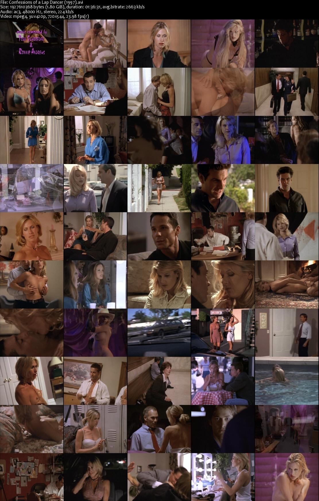 Buffy the body lap dance