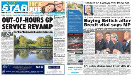 Shropshire Star Shrewsbury Edition – May 08, 2018