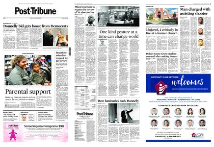 Post-Tribune – October 21, 2018