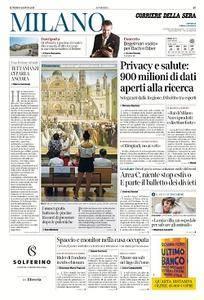 Corriere della Sera Milano - 6 Agosto 2018