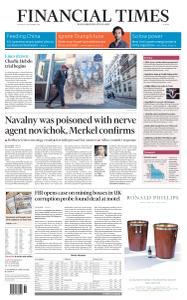 Financial Times Europe - September 3, 2020