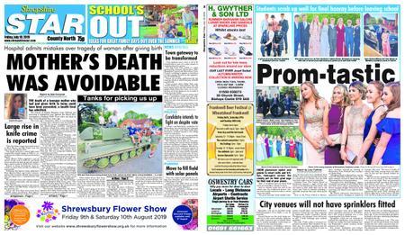 Shropshire Star North County Edition – July 19, 2019