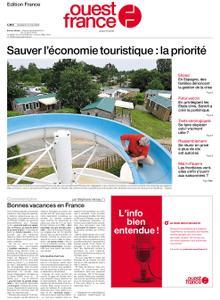 Ouest-France Édition France – 15 mai 2020