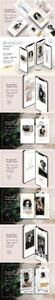 CreativeMarket - InstaGold Minimal Instagram Stories 3607687