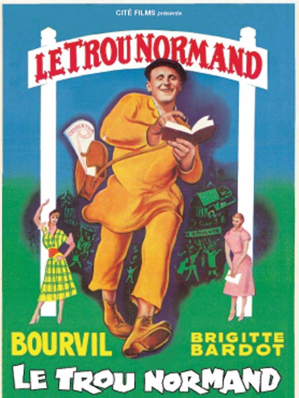(Bourvil, Brigitte Bardot) Le Trou Normand [DVDrip] 1952