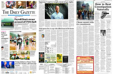 The Daily Gazette – September 24, 2019
