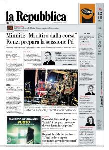 la Repubblica - 6 Dicembre 2018