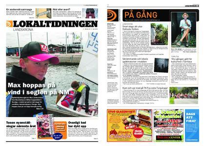 Lokaltidningen Landskrona – 20 juli 2019