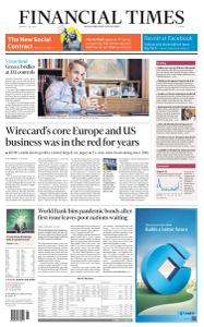 Financial Times Europe - July 6, 2020