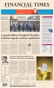 Financial Times Europe – 13 December 2019