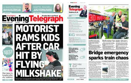 Evening Telegraph First Edition – August 08, 2018