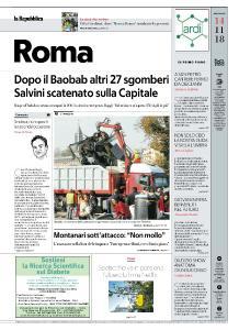 la Repubblica Roma - 14 Novembre 2018