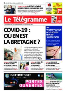 Le Télégramme Ouest Cornouaille – 08 octobre 2020