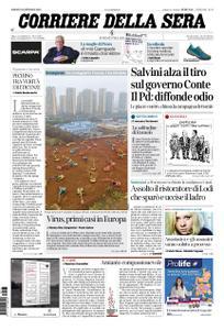 Corriere della Sera – 25 gennaio 2020