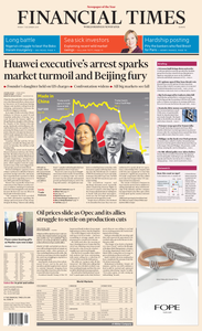 Financial Times Europe – 7 December 2018