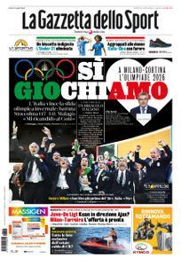 La Gazzetta dello Sport Roma – 25 giugno 2019