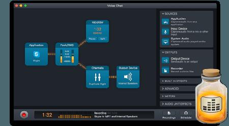 Rogue Amoeba Audio Hijack 3.3.4 Mac OS X