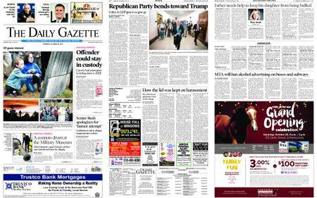 The Daily Gazette – October 26, 2017