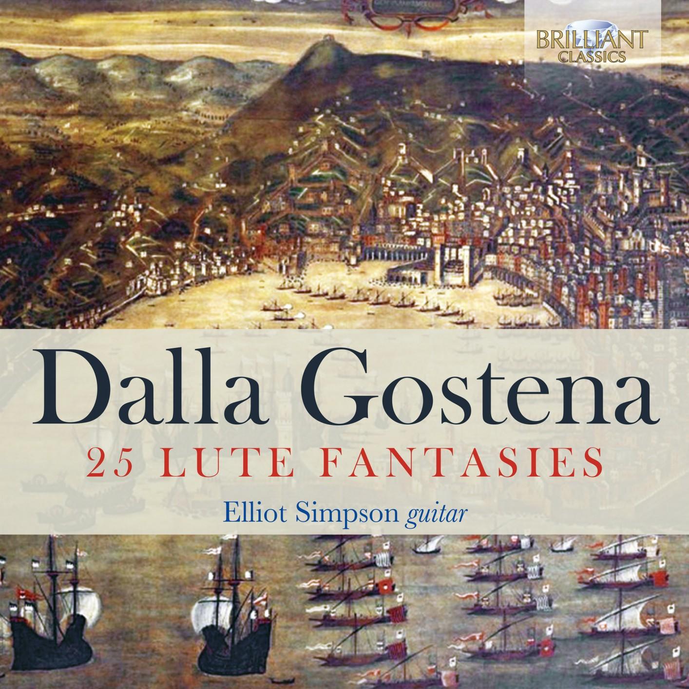 Elliot Simpson - Dalla Gostena: 25 Lute Fantasies (2019)