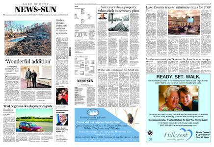 Lake County News-Sun – November 15, 2018