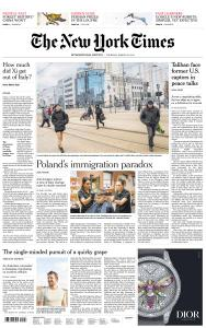 International New York Times - 28 March 2019
