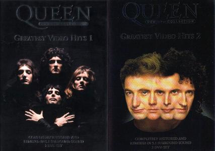 Queen - Greatest Video Hits 1 & 2 (2002/2003) [2xDVD5 + 2xDVD9] Repost