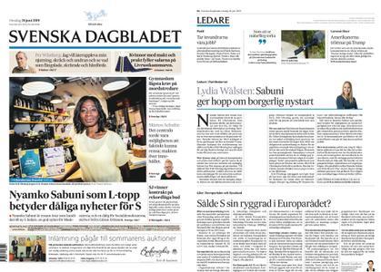 Svenska Dagbladet – 26 juni 2019