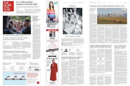 The Globe and Mail – December 31, 2018