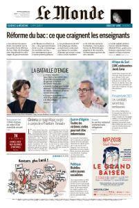 Le Monde du Mercredi 14 Février 2018